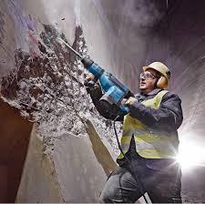 تخريب ساختمان های فرسوده کلنگی (بتنی و فلزی)