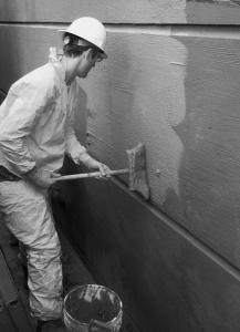 عایق کاری فوندانسیون -ایزولاسیون دیواره ها مواد آببندی polik