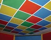 سقف کاذب ، شناز بندی ، کارتن پلاست برای صنعت ساختمان