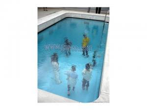 نصب آکرلیک در استخر ، نمای آکرولیک در استخر، آب بندی آکرلیک