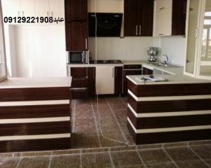 کابینت اشپزخانه (ام دی اف, هایگلاس, ممبران)ساخت آشپز خانه