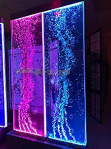 حباب نما، آبشار حبابی، آبنما عرض کم، تصویر آبنما حبابی