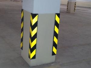 محافظ ستون پارکینگ، خط کشی پارکینگ،تجهیزات محافظ ستون پارکینگ