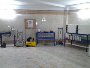 آزمایشگاه تخصصی مکانیک خاک آماندا فراز