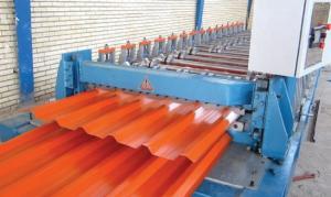 ساخت دستگاه تولید ورق حلب شیروانی سقف