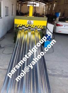 سازنده خط توليد عرشه فولادي (دال مركب- متال دك) دستگاه عرشه فلزی