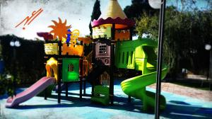 تولید مجموعه بازی پارکی پلی اتیلن
