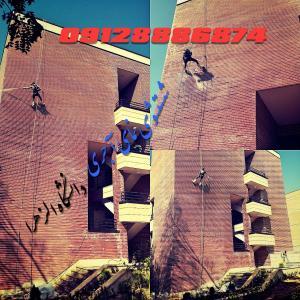 کفسابی-نماشویی-پیچ رولپلاک نما-نقاشی نمای ساختمان-سنگسابی-ساب زنی و شستشوی نما