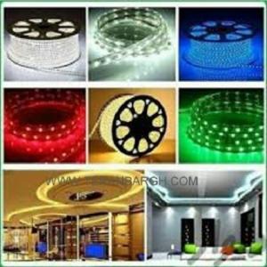 فروش تجهیزات برق روشنائی، لامپ، ریسه، پرژکتور و لوستر و آباژ