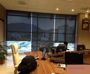 پرده سان اسکرین ضد حریق مدرن