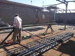 تولید تیرچه سقف کرومیت