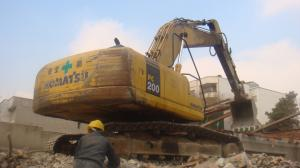 تخریب ساختمان و خاکبرداری