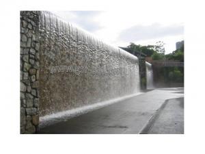 توليد آبشار شیشه ای، ساخت آبنمای شیشه ای، آبنما ، آبشار