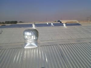 اجرای پوشش سقف و دیواره سوله و سالنها