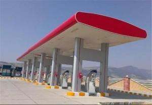 جایگاه پمپ بنزین فروشی ممتاز داخل تهران ورودی از اتوبان