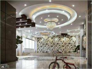 طراحی و نصب کناف نور مخفی ، طراحی تالار، رستوران ، ویلا