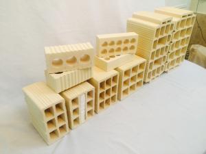 آجرنما بلوک دیواری بلوک سقفی ( آجر سفال یزد )
