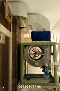 ساخت و نصب کانال کولر دریچه برزنت هود و دودکش آشپزخانه