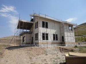 ساخت خانه پیش ساخته با سازه ال اس اف LSF درشیراز