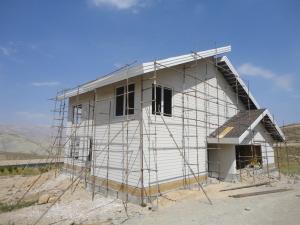 ساخت ویلای پیش ساخته با سازه ال اس اف LSF در شیراز