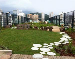 طراح ، مجری و تولید کننده کلیه لایه های باغ بام، بام سبز