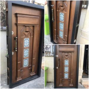 درب ضد سرقت از 690000 -درب داخلی -درب چرمی اکوستیک