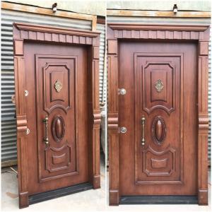 تولید کننده انواع درب ضد سرقت ایرانی | ترکیه ای | درب چوبی