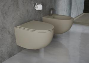 توالت فرنگی سوپر لوکس اصل ایتالیا سنیترا SANITERRA