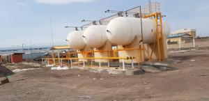 گازرسانی گاز مایع به کارخانجات آریایی