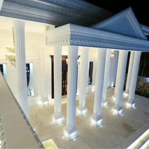 اجرای نمای رومی با فوم پلی استایرن
