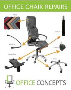 تعمیرات صندلی کامپیوتر و صندلی اداری در مشهد - حامیان صنعت