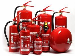 شارژ کلیه کپسولهای آتشنشانی (co2، پودر و گاز ،آب و فوم)