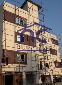 عایق رطوبتی روی نما و دیوار ساختمان با نانو جایگزین ایزوگام