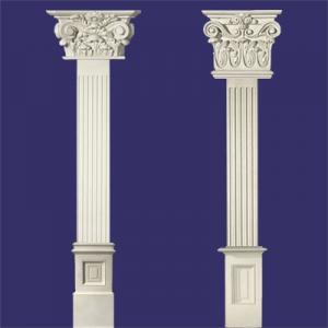 ابزار گچبری پیش ساخته ستون ، سر ستون و پایه ستون پلی یورتان