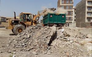 حمل نخاله و مصالح ساختمانی، پیمانکاری افشاری