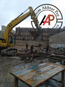 تخریب ساختمان - خاکبرداری - پایدار سازی