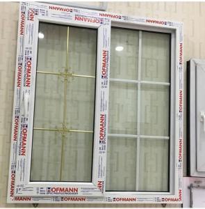 درب و پنجره UPVC دوجداره هافمن