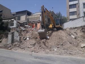 تخریب ساختمان کلی و جزئی