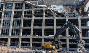 تخریب ساختمان جزئی و کلی تمام نقاط