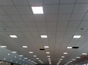 فروش سازه سپری سقف کاذب در رنگ سفید و طلایی