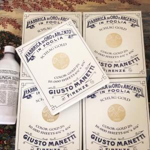 واردات و فروش ورق طلا ایتالیا برند مانتی