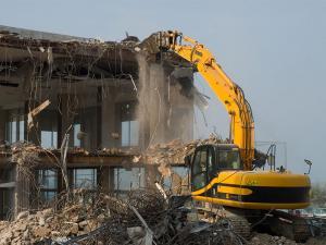 شرکت تخریب ساختمان پاک