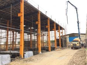 اجرای سقف کامپوزیت در شهرستان
