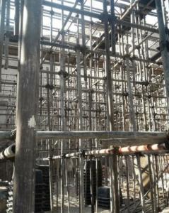 اجرای فنداسیون سقف اسکلت بتنی دیوار برشی واستخر با اکیپ وابزار