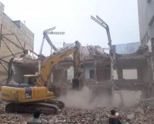 تخریب ساختمان و خرید و حمل ضایعات