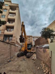 خاکبرداری ، گودبرداری ، تخریب ، خریدضایعات ساختمانی