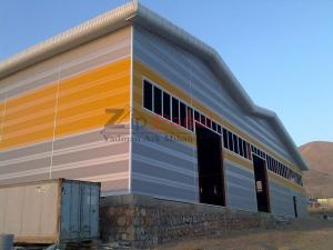 سیستم پوشش سقف و دیوار یکپارچه با ورق آلومینیومی زیپ پانل