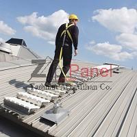سیستم پله و راهرو در سقف شیبدار زیپ پانل