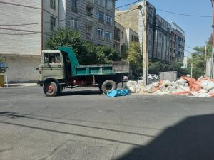حمل نخاله توسط خاور با کارگر و بدون کارگر اجاره خاور کمپرسی