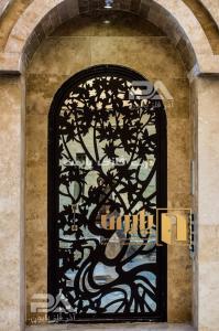 درب ورودی ساختمان پایون؛ درب فلزی لوکس